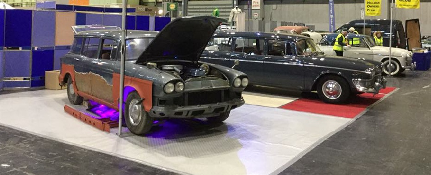 PVHCC Stand NEC Restoration Show 2018